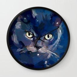Cat 7 Wall Clock