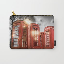 Red Phone Box - Art 2 Carry-All Pouch