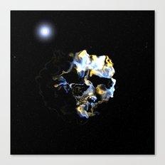 Ghostly Nebulae Canvas Print