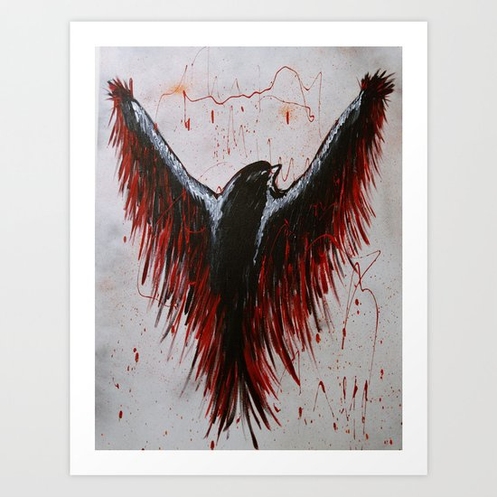 Soaring, Wishing, Thinking Art Print