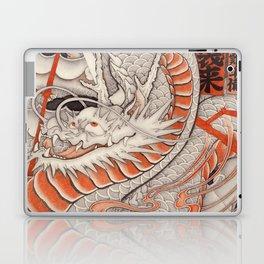 Japanese tattoo Typhoon dragon Laptop & iPad Skin