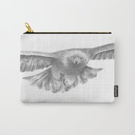 Golden eagle in flight, Aquila Chrysaetos Carry-All Pouch