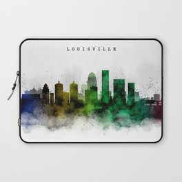 Louisville Watercolor Skyline Laptop Sleeve