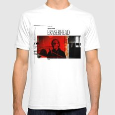 Eraserhead 1 Mens Fitted Tee White SMALL