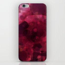 Spilled Wine iPhone Skin
