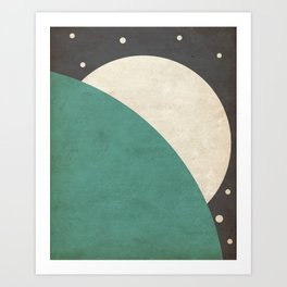 Loom- Space is Hot Art Print