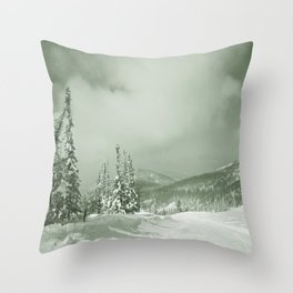 Winter day3 Throw Pillow