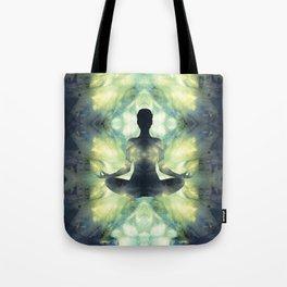 Yoga Asana  in Translucent Agate Tote Bag
