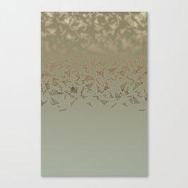 Triangular Confetti Canvas Print