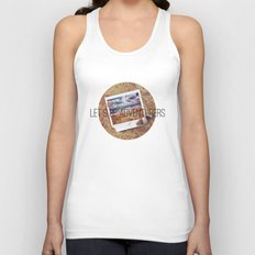 the beach Unisex Tank Top