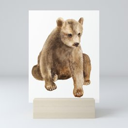 Bear cub Mini Art Print