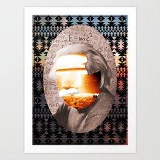 E=MC2 Art Print