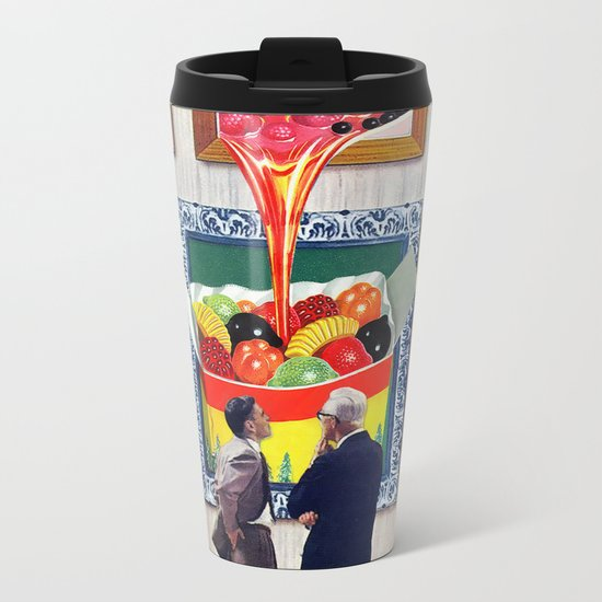 A Question of Candy Metal Travel Mug