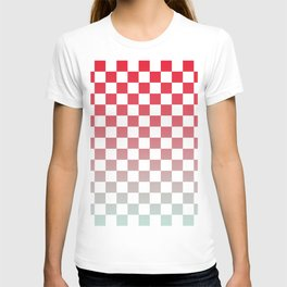Chessboard Gradient II T-shirt