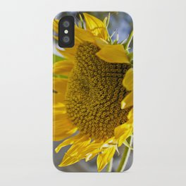 Take Cover [SUNFLOWER] iPhone Case