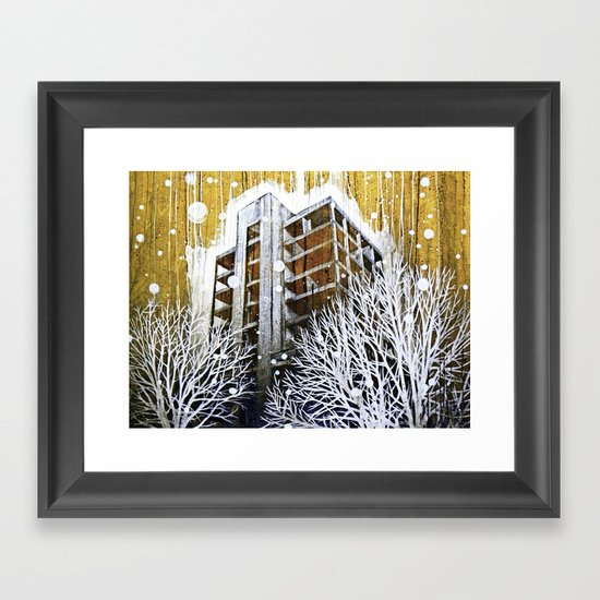 """The Fortress"" Framed Art Print"