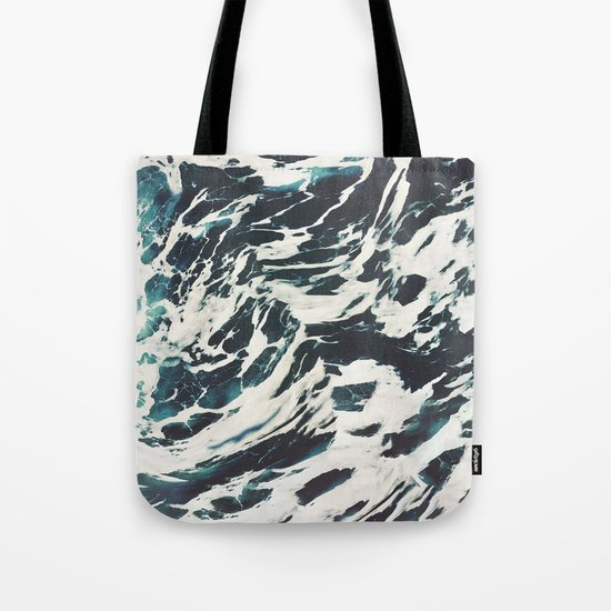 The Tossed Sea Tote Bag
