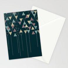 Dark Triangles IV Stationery Cards
