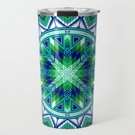 Sacred Places Green Travel Mug
