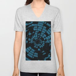Abstract Dartboard Unisex V-Neck