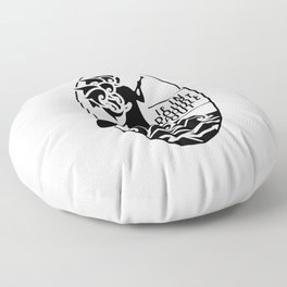If in doubt, paddle out Floor Pillow