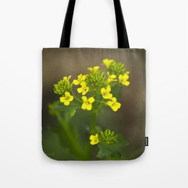 Wintercress Wildflowers Tote Bag