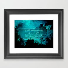 RETURN (1 Thessalonians 4:16-17) Framed Art Print