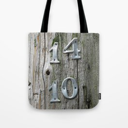 14 Over 10 Tote Bag
