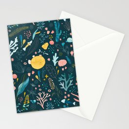 Underwater Jungle Stationery Cards