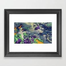 Outpost Alpha Framed Art Print