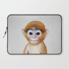 Baby Monkey - Colorful Laptop Sleeve