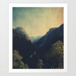 mountains VII Art Print