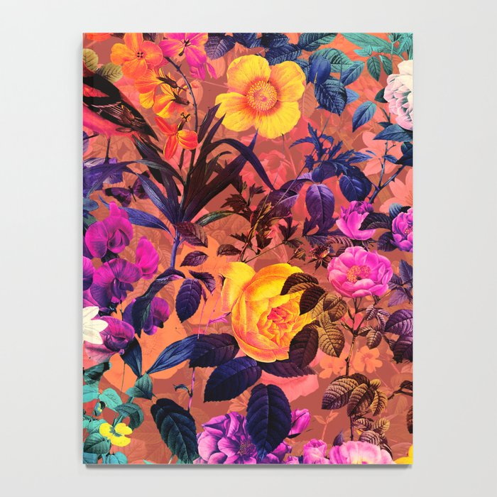 Floral and Birds II Notebook