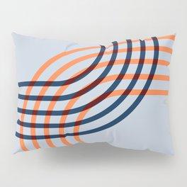 Counterbalance - orange blue Pillow Sham