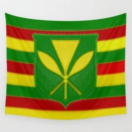 Fancy Flag:  Hawaii Kanaka Maoli Wall Tapestry