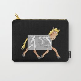Horse Xray Cartoon Carry-All Pouch