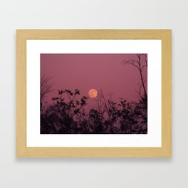 Morocco Magic Moon Framed Art Print