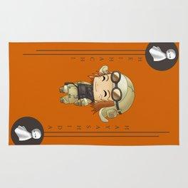 Chibi Heihachi Rug