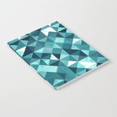 Lovely Geometric Background IV Notebook