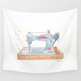 Vintage Stitchmaster Sewing Machine Wall Tapestry