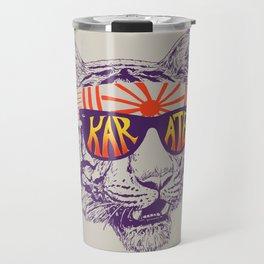 Karate Tiger Travel Mug