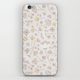 Cotton Harvest Pattern iPhone Skin