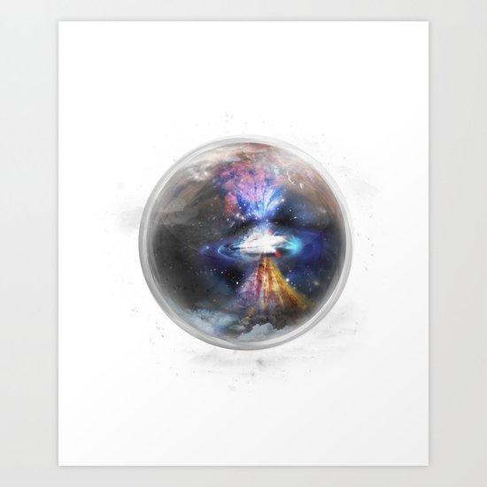 Small Bang Art Print