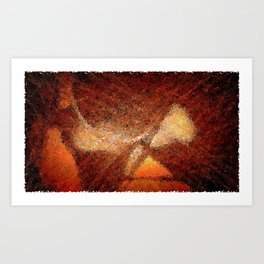 Close Proximity Art Print