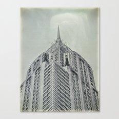 Vintage Chrysler Cuilding 1930's Canvas Print