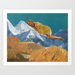 Cozying Up Art Print