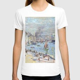 Claude Monet Port of Le Havre T-shirt