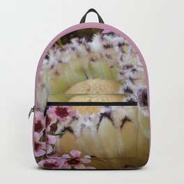 Beautiful Feather Protea Backpack