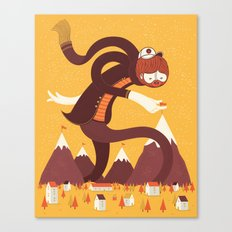 Best Alpinist Ever Canvas Print