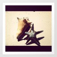 Beachin Art Print
